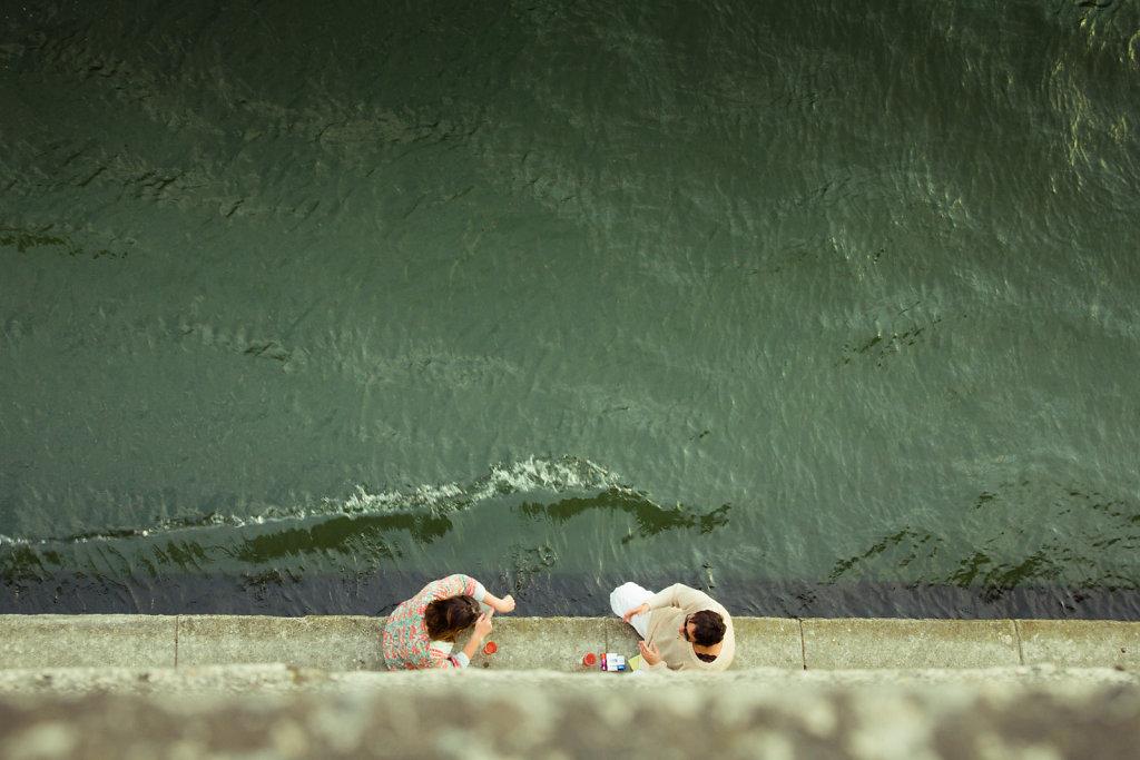 Au bord du Seine