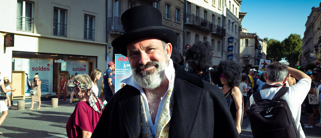 Parade d'ouverture Festival OFF 2917, Avignon