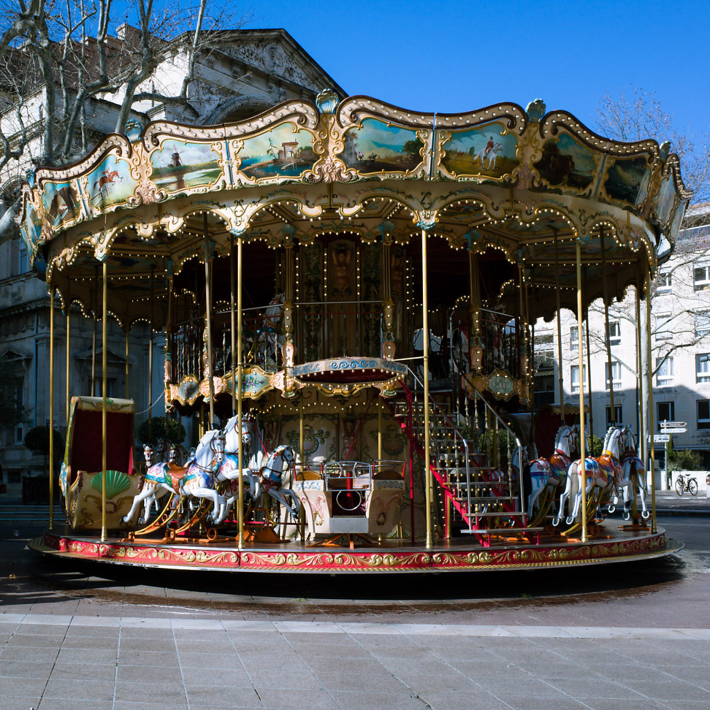 Manege du Place d'Horologe