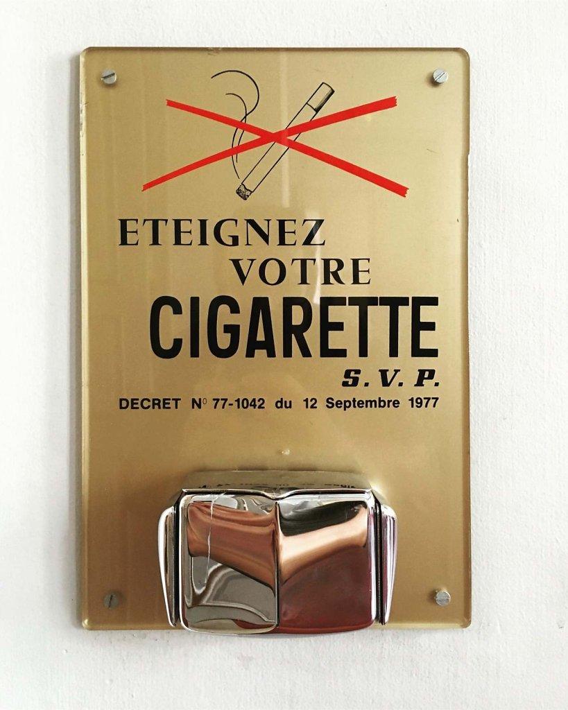 Eteignez votre cigarette SVP