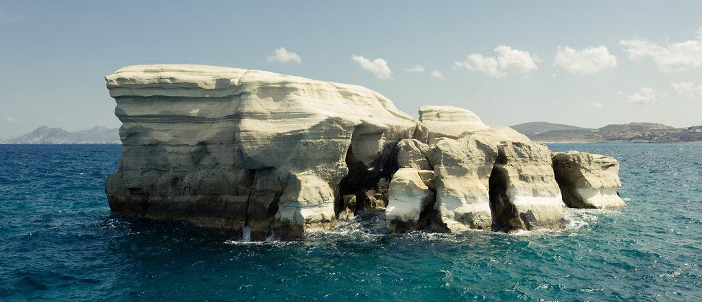 Rock formation, Milos