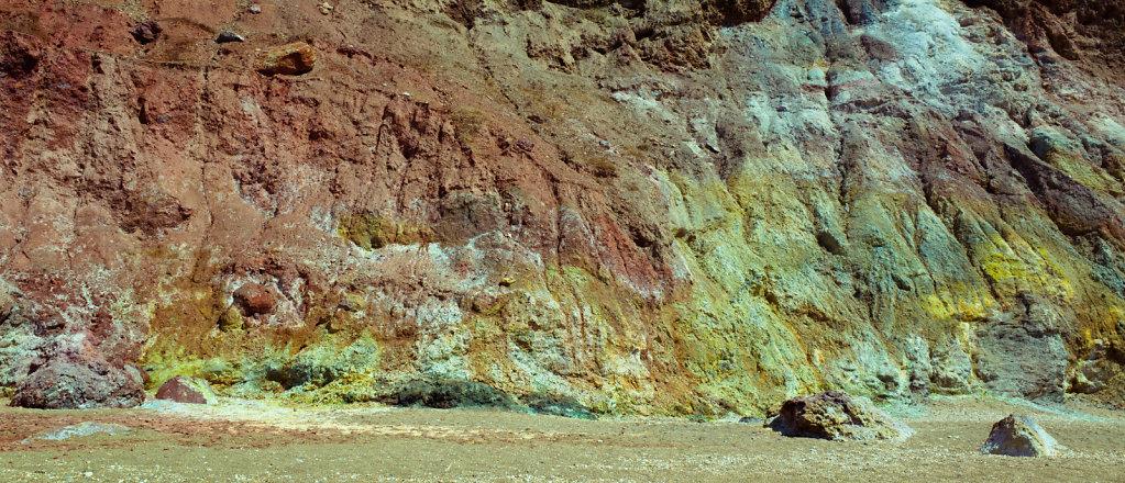 Colorful rock, Milos