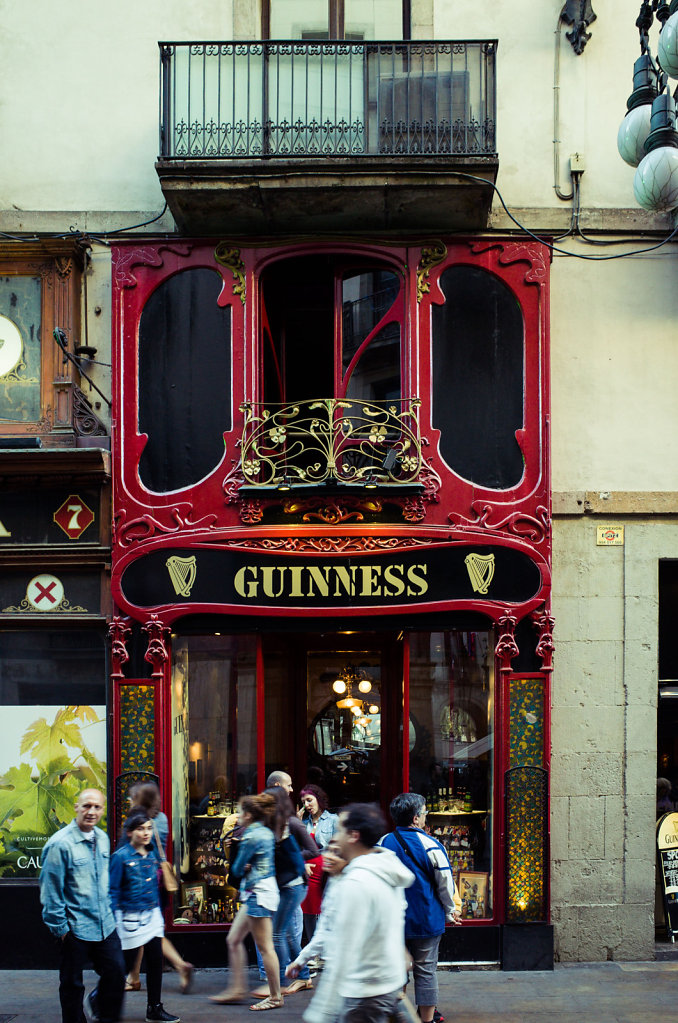 Guiness shop, Barcelona
