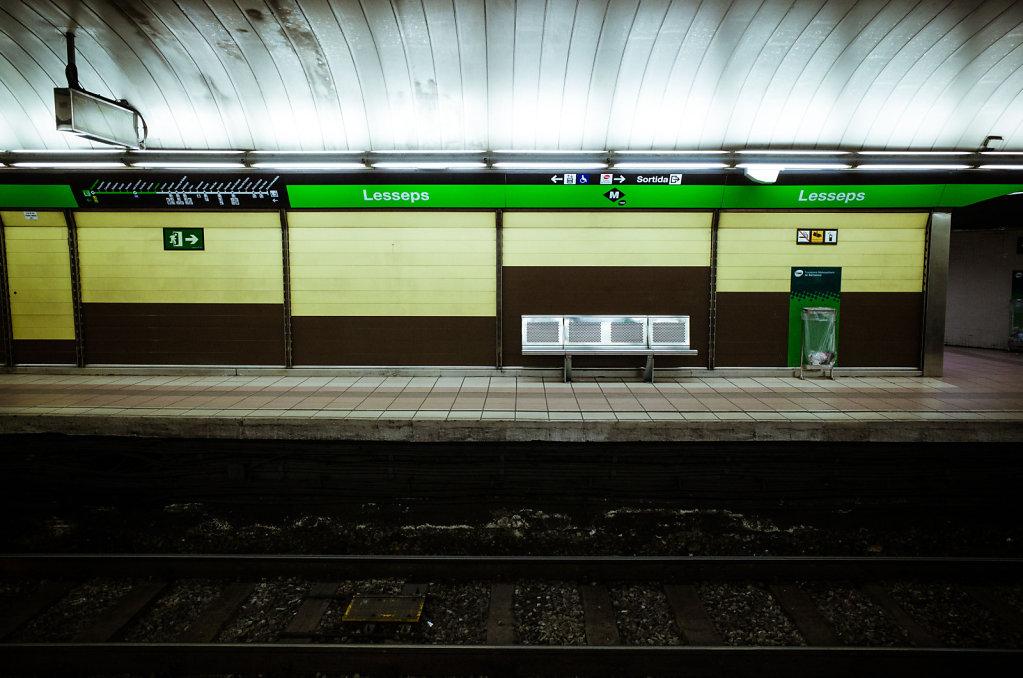 Lesseps subway station, Barcelona