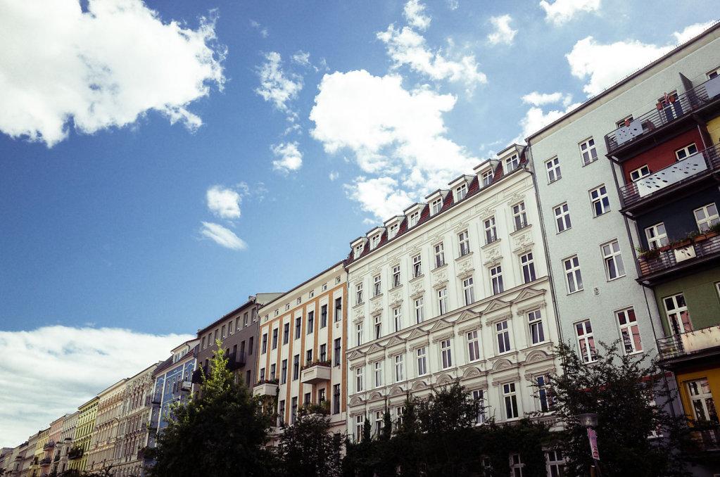 Oderberger street, Berlin