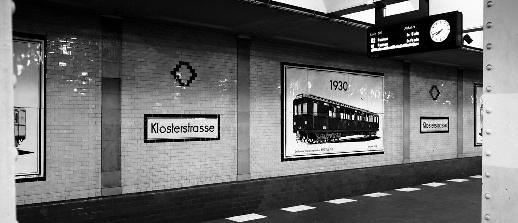 Klosterstrasse subway station, Berlin
