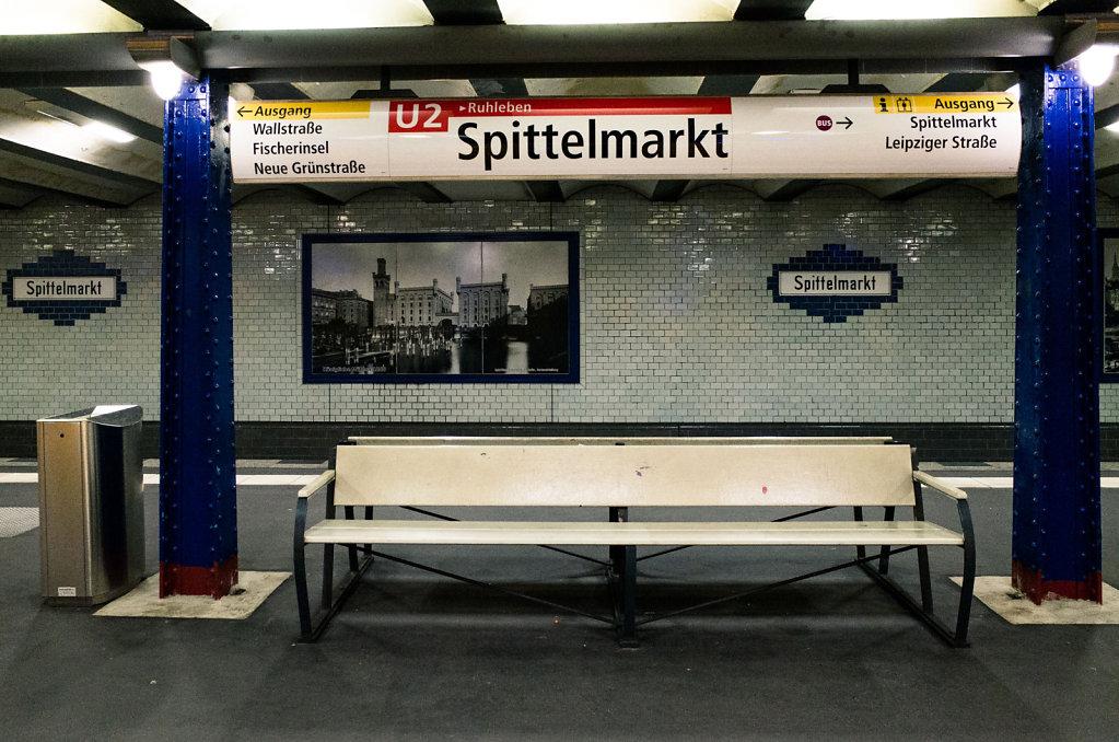 Spittelmarkt subway station, Berlin
