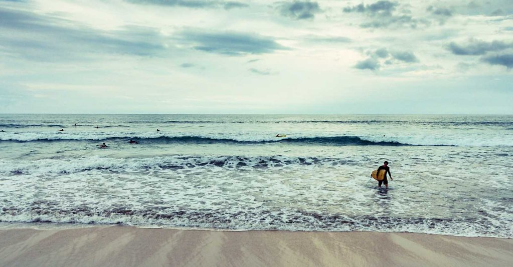 The surfer, Bali