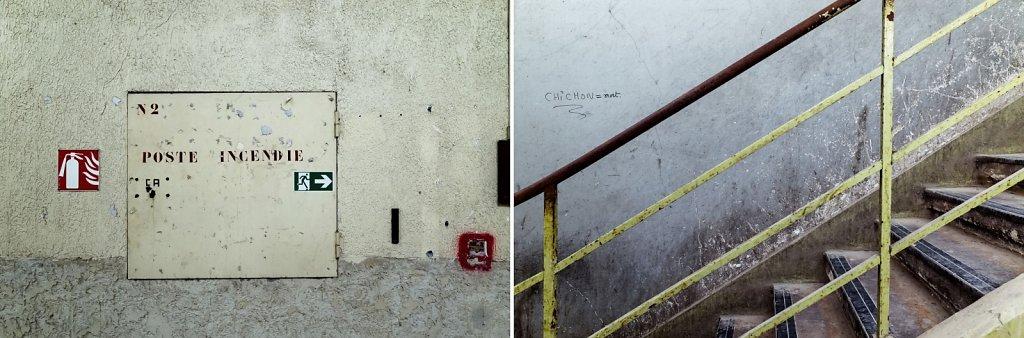 Poste incendie / escalier