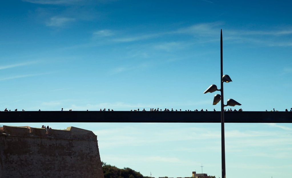 The bridge, Marseille