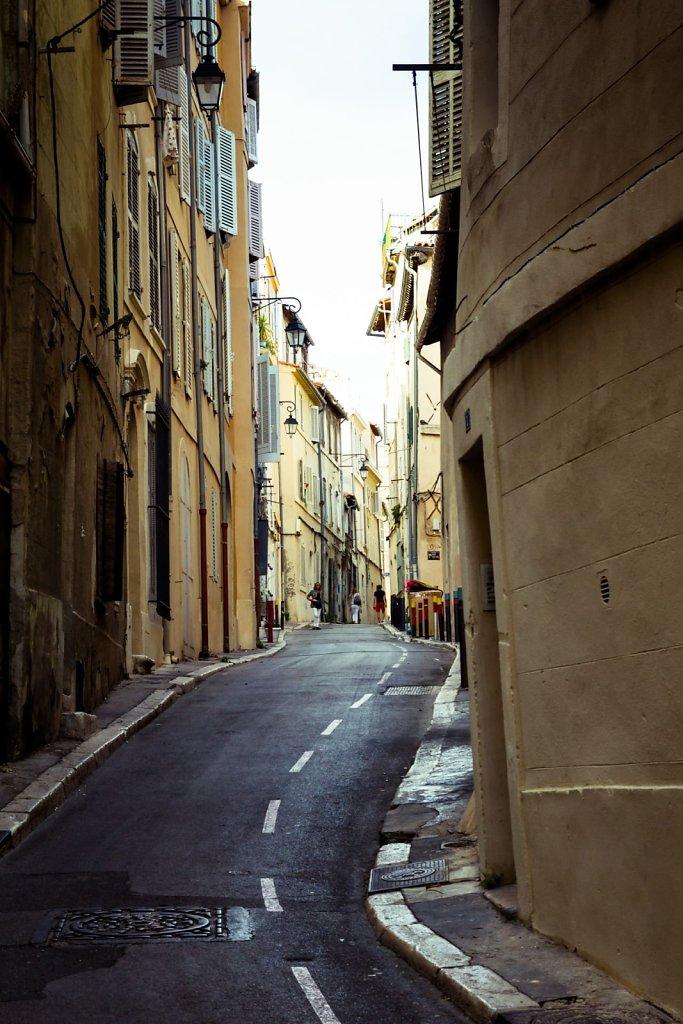 Street in Le Panier, Marseille