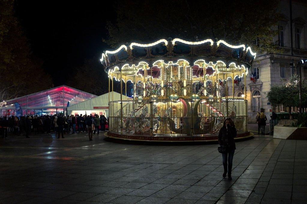 Place de l'Horologe, Millevin 2017, Avignon