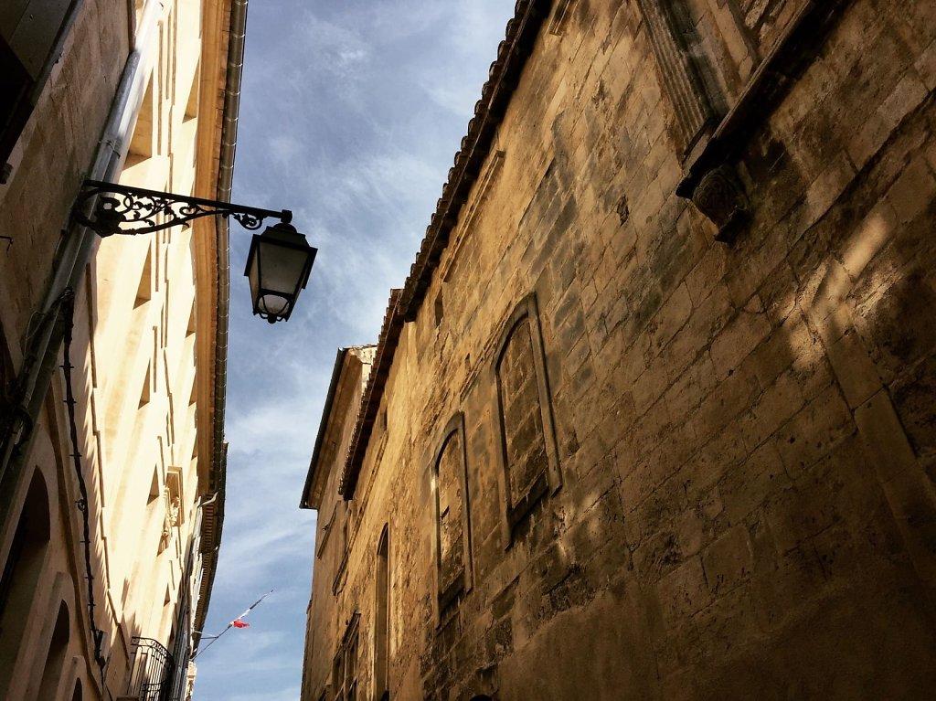 Sliver of sky, Arles