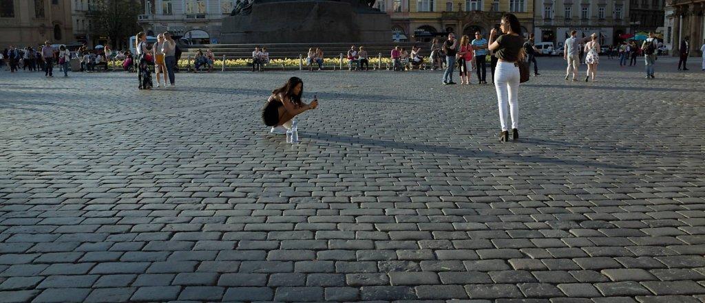 Photo opportunity, Prague