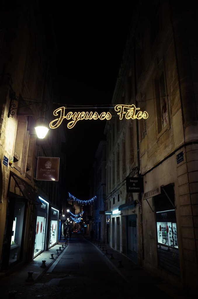 Joyeuses Fêtes, Avignon