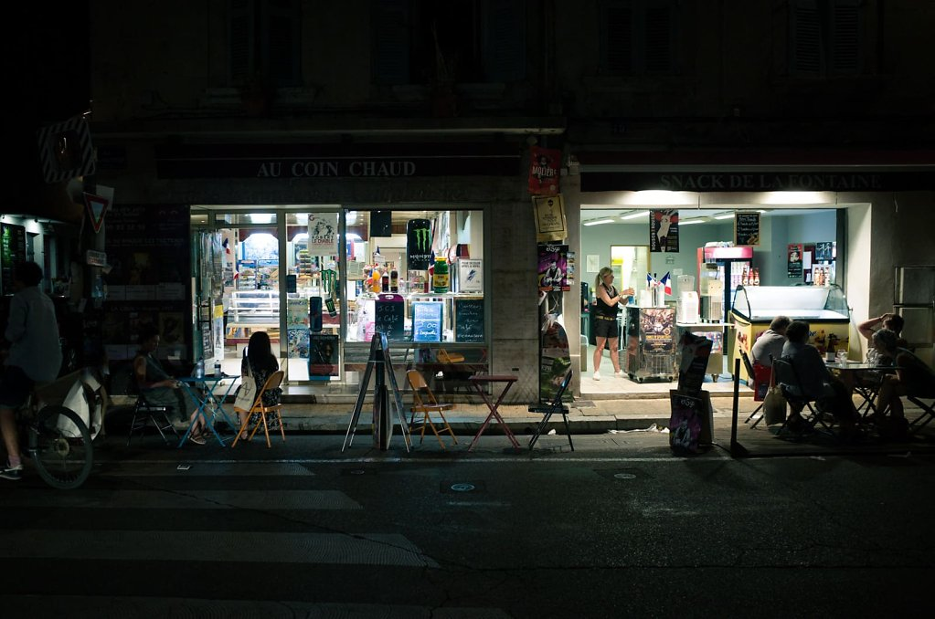 Au coin chaud, Avignon, 2018