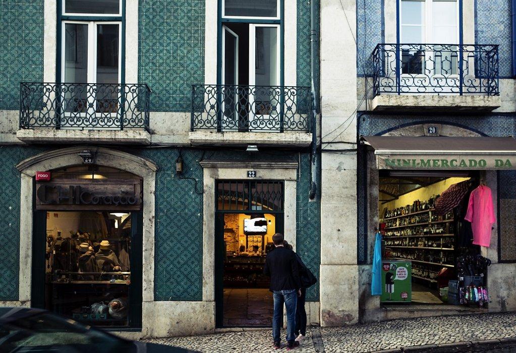 Mini mercado, Lisbon