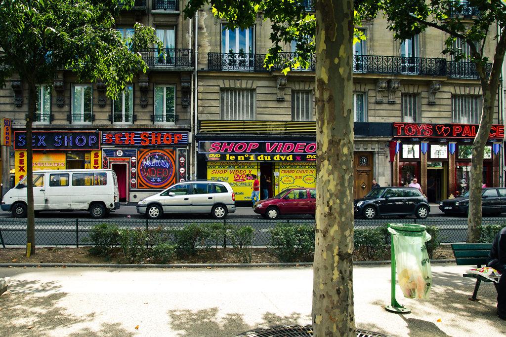 Sex shops, Paris