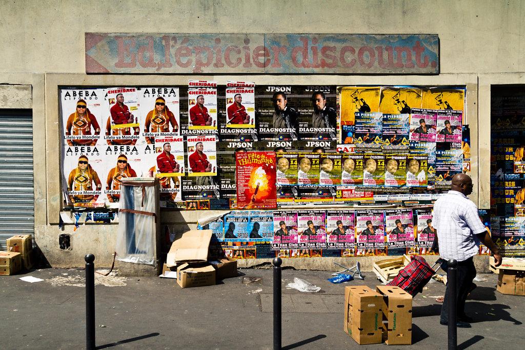 Ed, l'épicier discount, Paris