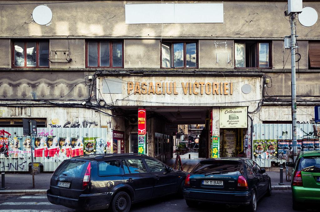 Pasagiul Victoriei, Bucharest
