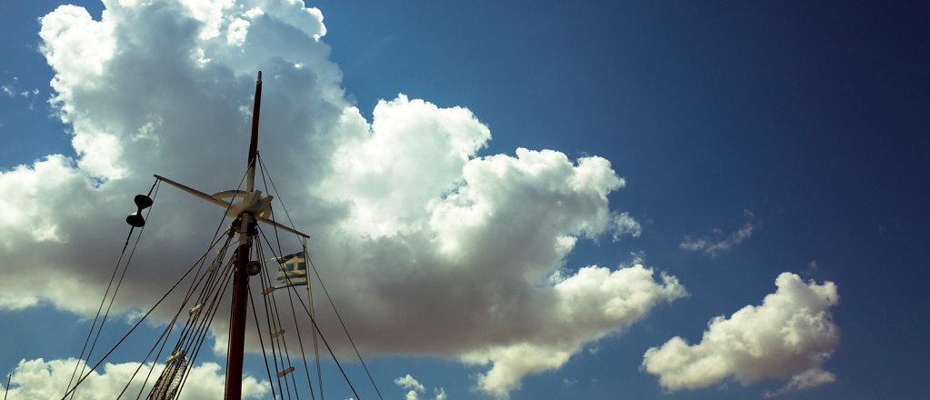Greek boat mast, Milos
