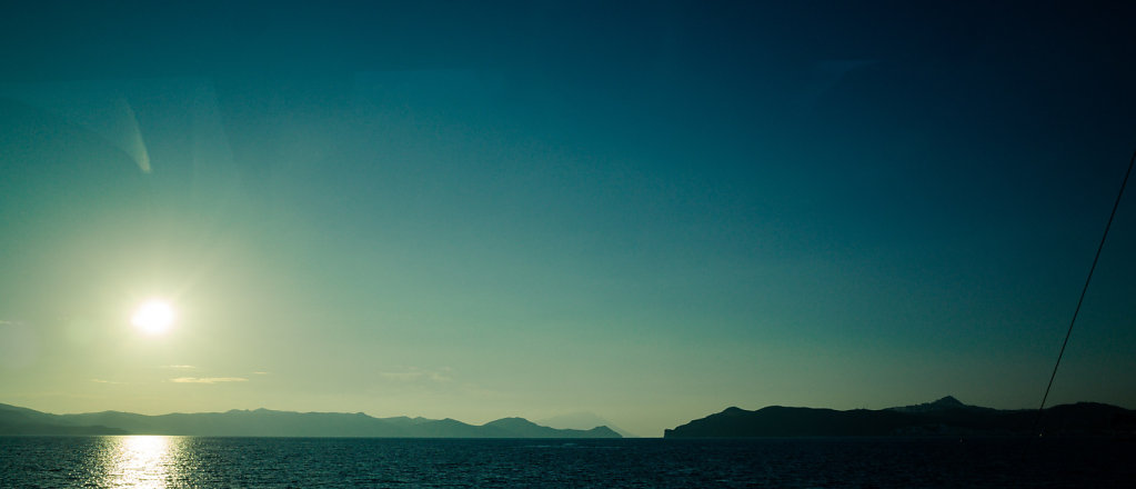 Sunset in Milos