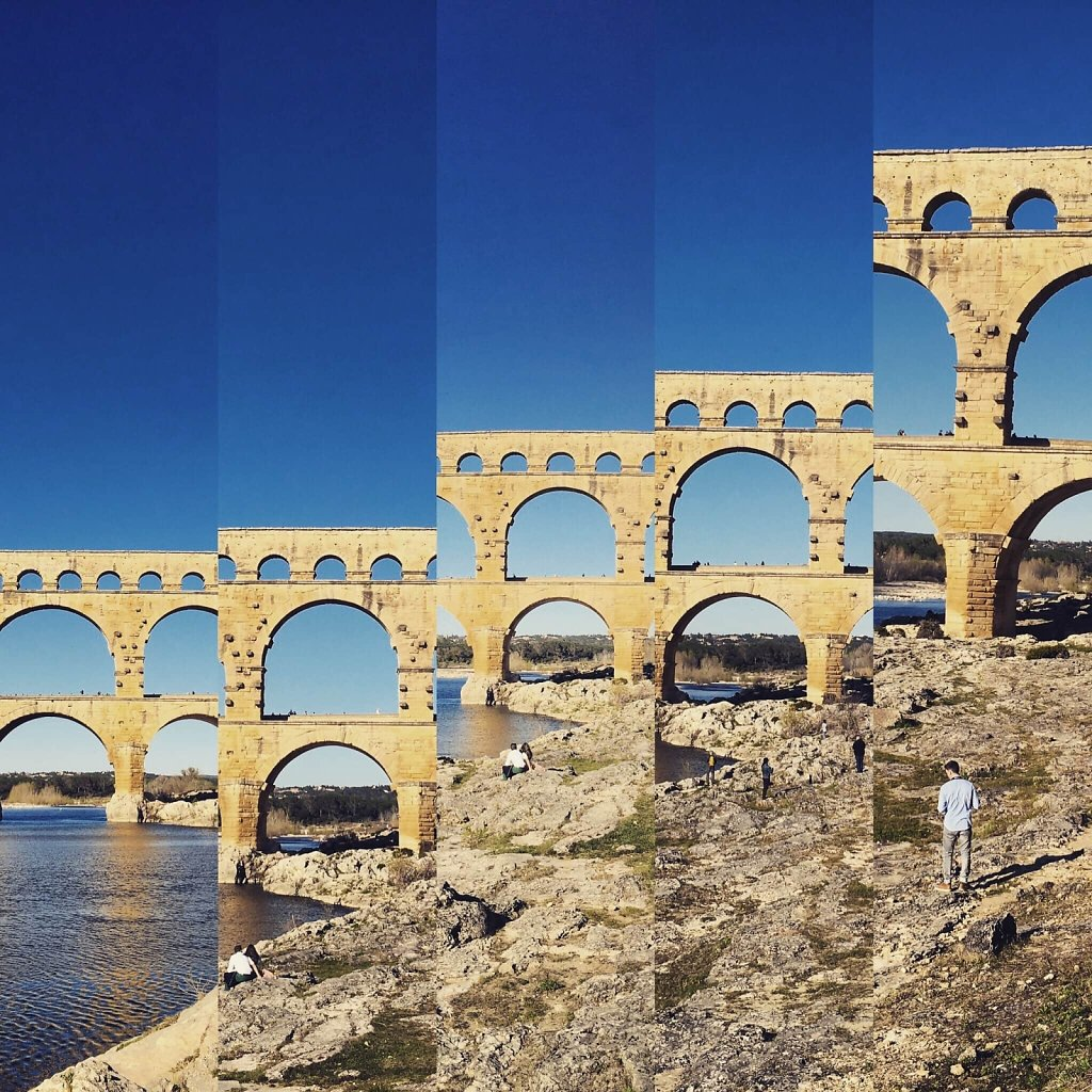 Pont du Gard remixed