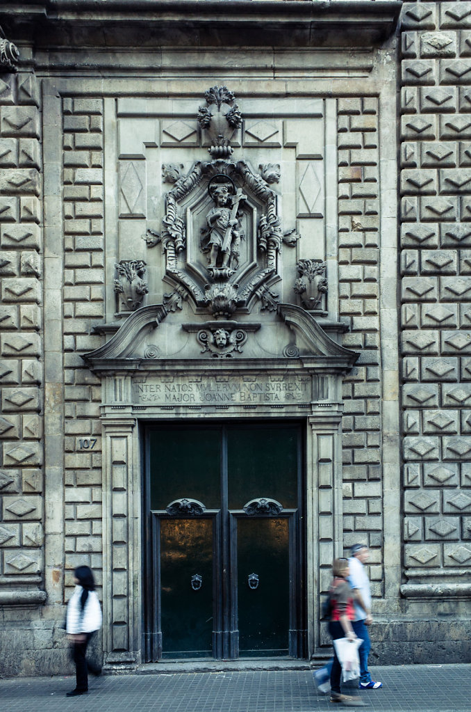 Architectural detail, Barcelona