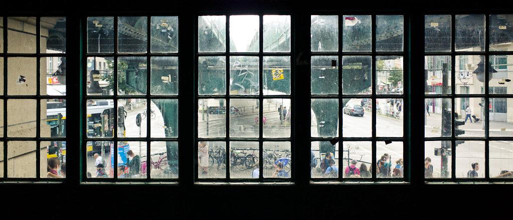 Through the window, Berlin