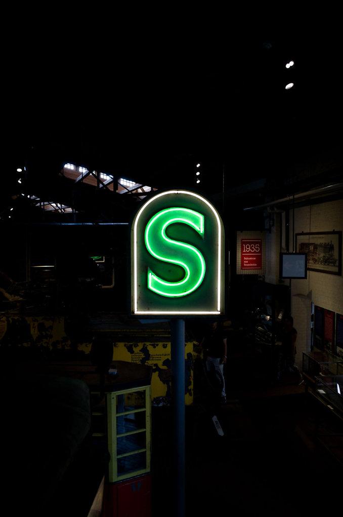 S for S-Bahn