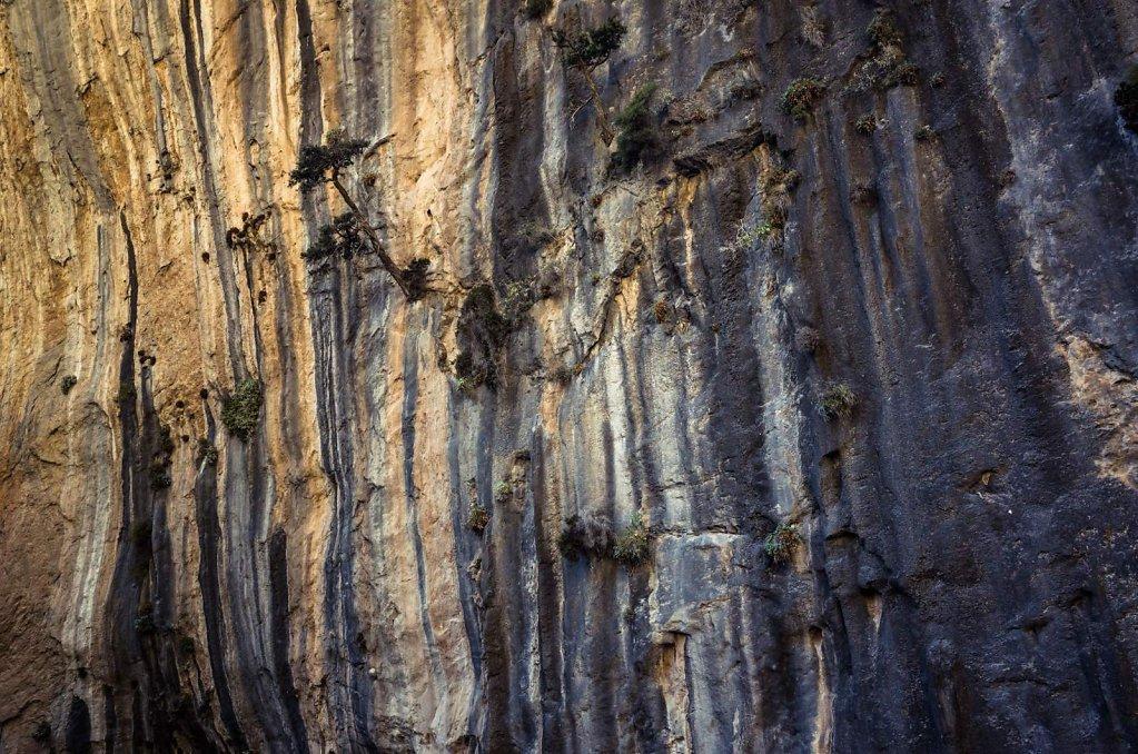 Samaria Gorge wall texture
