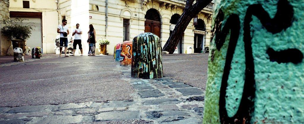 Smiling stones, Montpellier