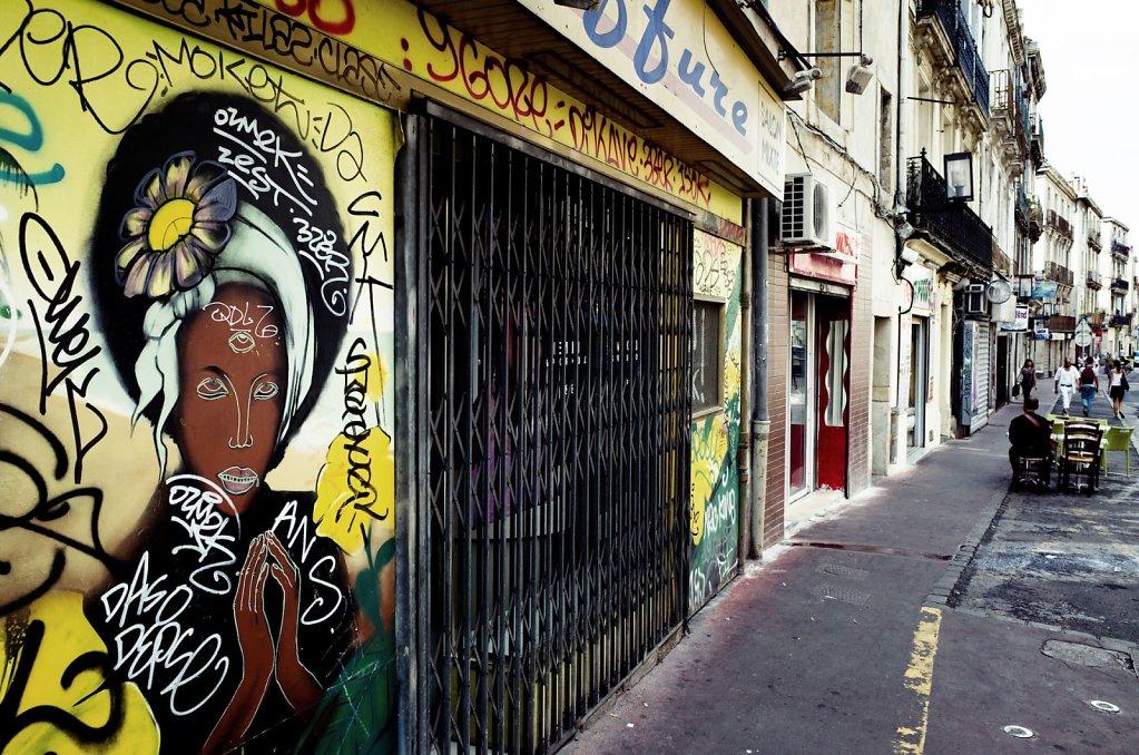 Street grafitti in Montpellier