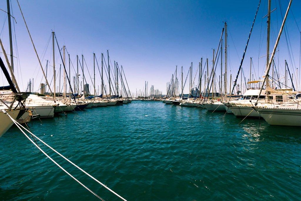 Boat parking, Toulon
