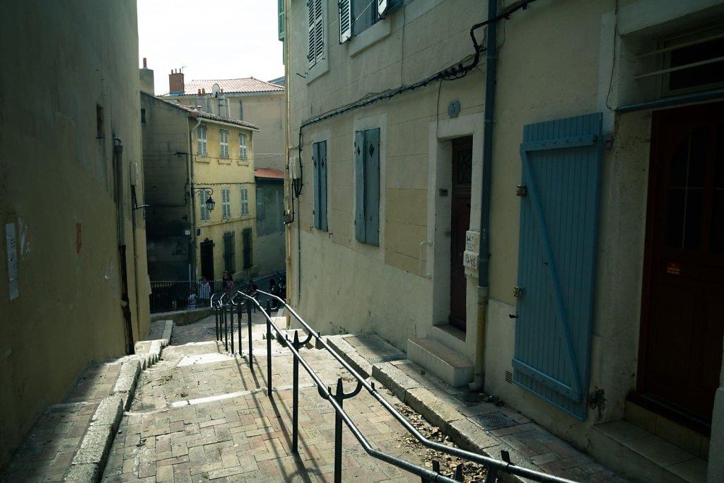 Downward steps, Marseille