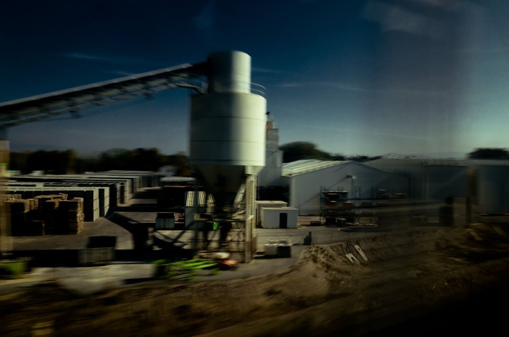A quick glance at an industrial site