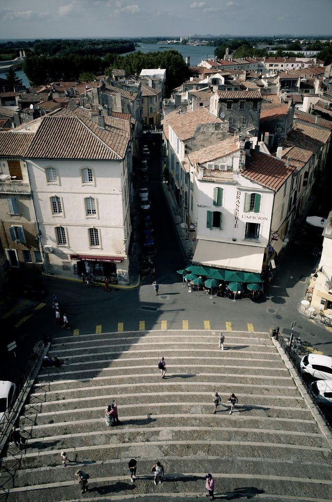 View from les Arenes d'Arles