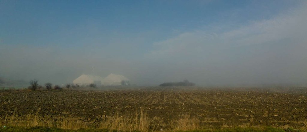 Through the haze, II