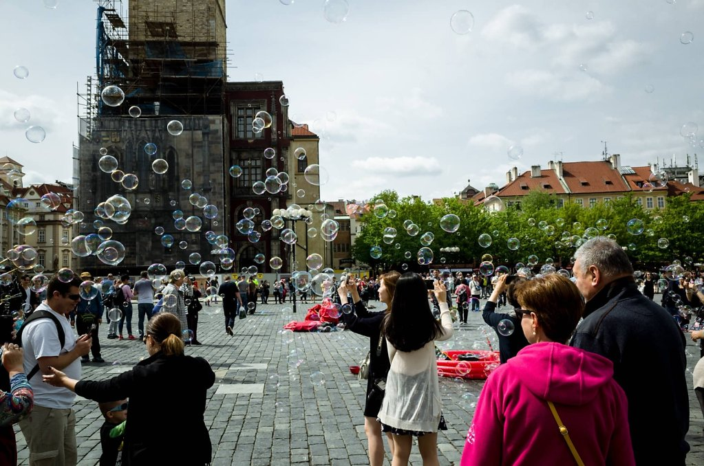 Bubbles, Prague