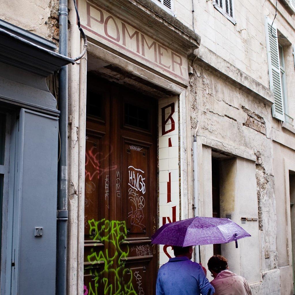 Parfois il pleut a Avignon