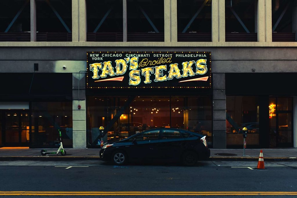 Tad's Broiled Steaks, San Francisco