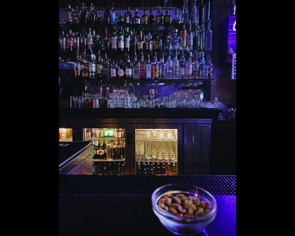 A selfie in a San Francisco bar